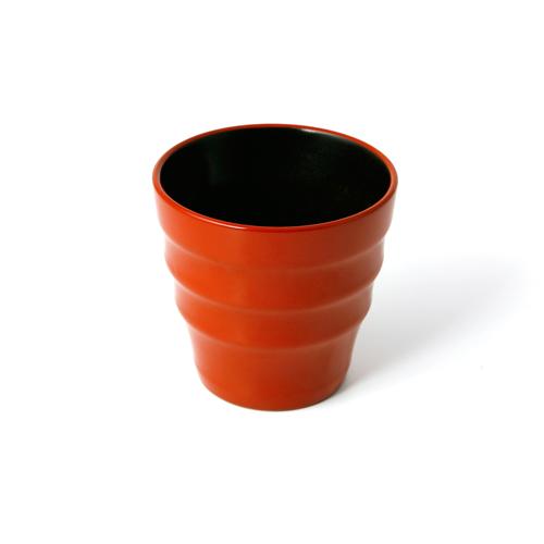 漆塗フリーカップ(オレンジ塗)