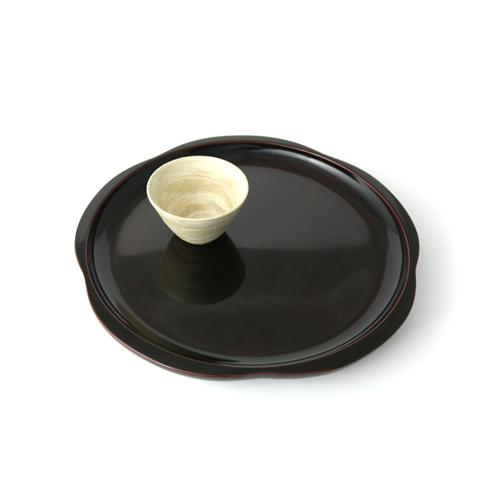 尺1茶盆梅(後藤塗)