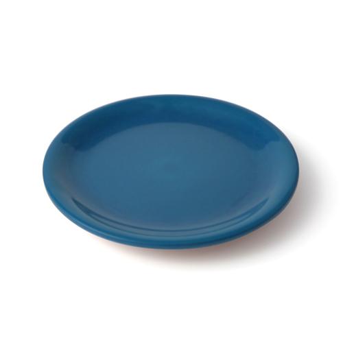 6寸 皿 青塗