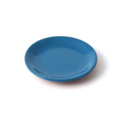 4.5寸皿 青塗