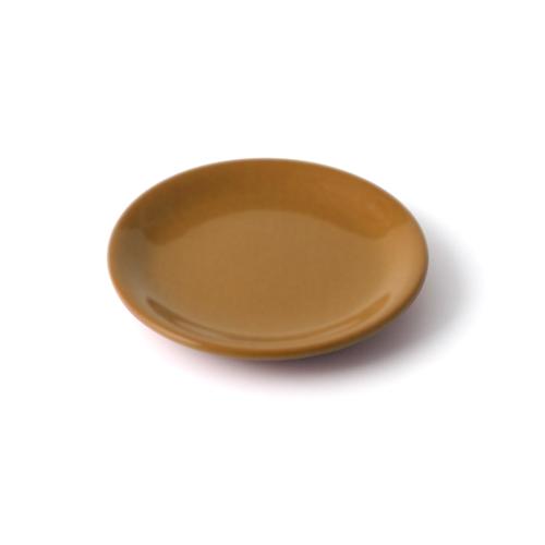 4.5寸皿 からし塗
