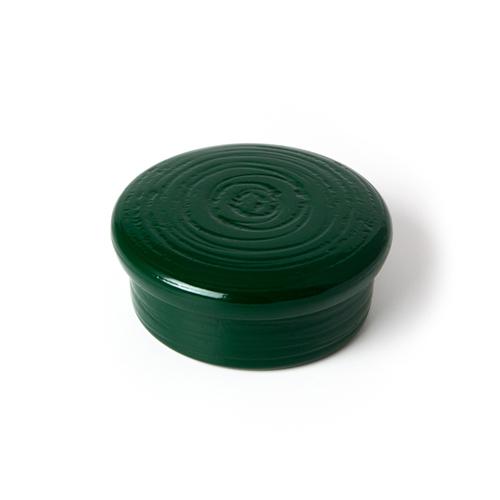 蓋物小物入 彩漆塗・緑