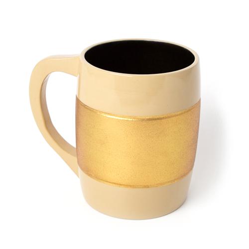 Beerカップ 彩漆塗・金