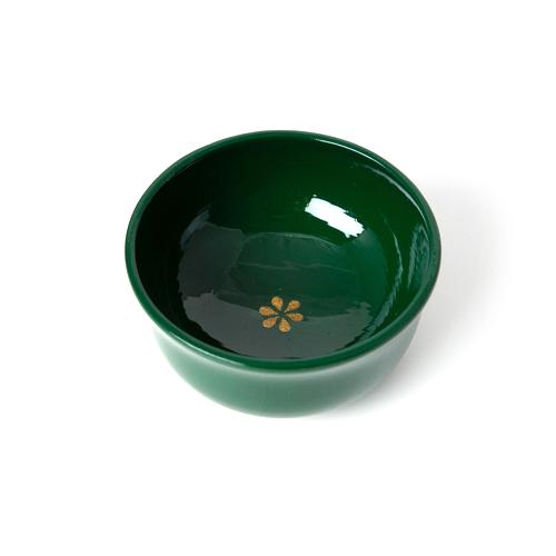 ぐい呑み 彩漆塗・緑