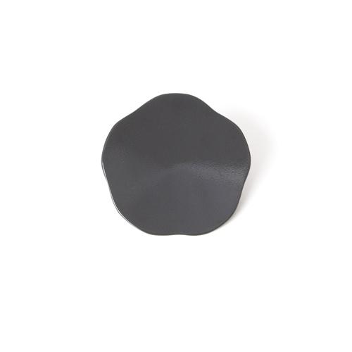 3寸梅小皿タタキ 彩漆塗・グレー