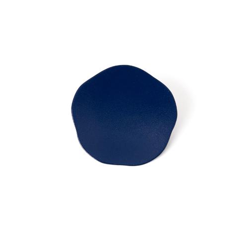 3寸梅小皿タタキ 彩漆塗・藍