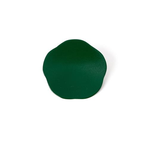 3寸梅小皿タタキ 彩漆塗・緑