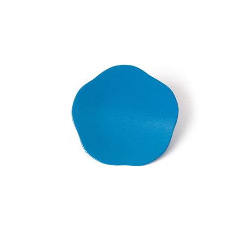 3寸梅小皿タタキ 彩漆塗・青